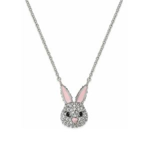 ♠️ Kate Spade Pave Bunny Pendant Necklace NWT